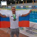 Пловец Glorax Life установил рекорд России и стал чемпионом Европы