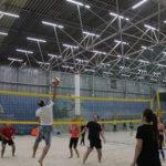 Продолжаются тренировки Glorax Life по волейболу