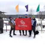 Команда Glorax Life приняла участие в «Лыжне России-2019»