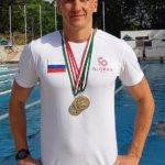 Пловец команды Glorax Life на втором месте в мировом рейтинге