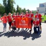 Команда Glorax Life на Всероссийском забеге