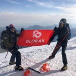 Альпинисты Glorax Life совершили восхождение на гору Казбек