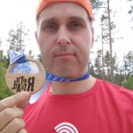 Бегун Glorax Life принял участие в забеге Rautu Trail