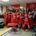 Футбольная команда Glorax Life заняла третье место на Чемпионате Московской области