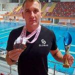 Пловец Glorax Life завоевал 5 медалей на международном турнире